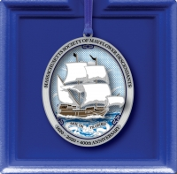 """Sail On Pilgrims"" 400th Anniversary Ornament"