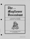 Paper Copy of Mayflower Descendant Vol 36 Issue 1 (1986)