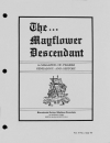 Paper Copy of Mayflower Descendant Vol 37 Issue 2 (1987)